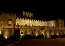 Partanna_Castello_Grifeo_notte