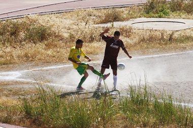gibellina calcio in campo