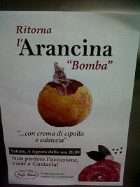 arancina bomba