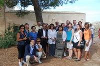 Il Sindaco Errante, i deputati americani, la Dott.ssa Greco, la Consulente Maniscalco, gli Assessori Campagna, Giacalone e Catania