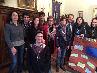 gruppo scout castelvetrano e sindaco
