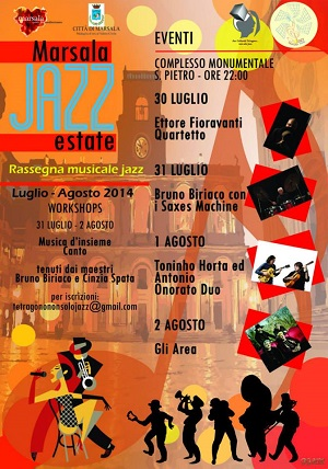 LOCANDINA MARSALA JAZZ ESTATE