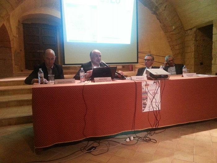 Da sx: Alessandro La Grassa, Antonino Sutera, Nicolà Catania, Giuseppe Bivona