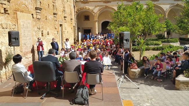 inaugurazione bliblioteca bambini comunale partanna