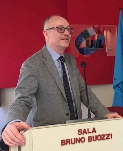 Il Segretario Generale Uil Scuola Trapani Giuseppe Termini