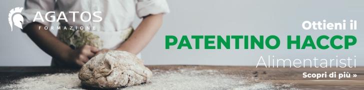 patentino haccp banner
