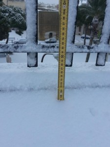 Neve a Partanna-Giuseppe_Catania2