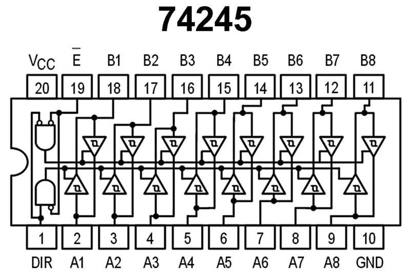 IC 74245 DATASHEET PDF