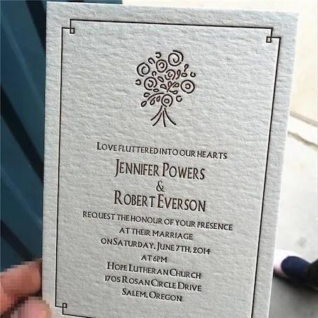 Esempio di Stampa Letter Press_4