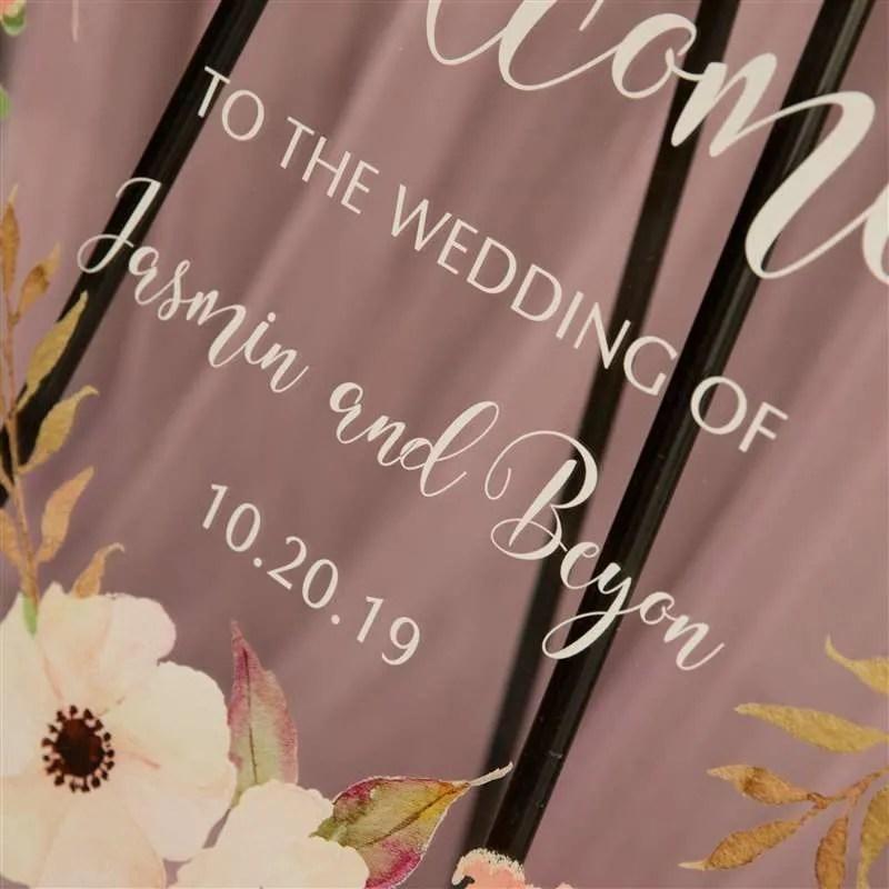 Cartelli Plexiglass tableau de mariage YK001_3