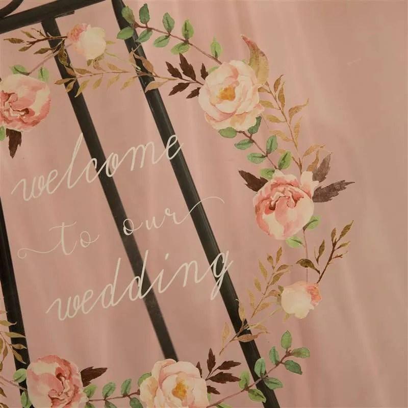 Cartelli Plexiglass tableau de mariage YK007_6