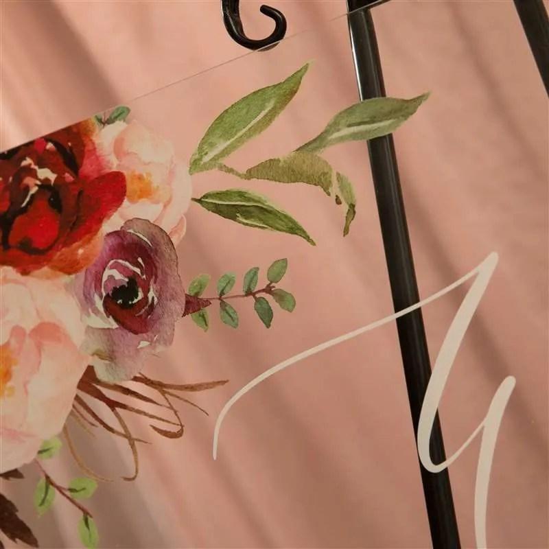 Cartelli Plexiglass tableau de mariage YK009_3