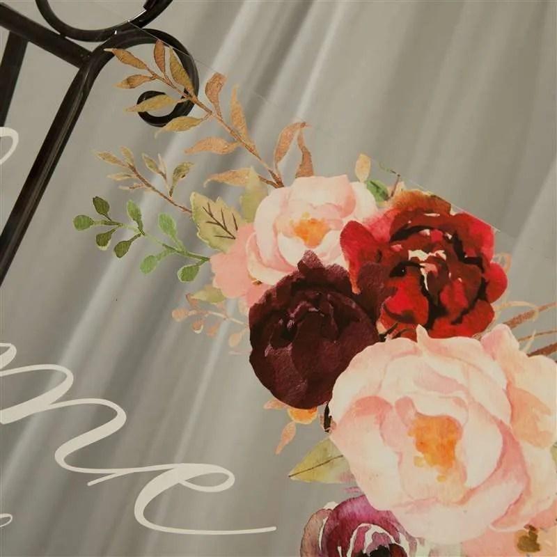 Cartelli Plexiglass tableau de mariage YK013_8