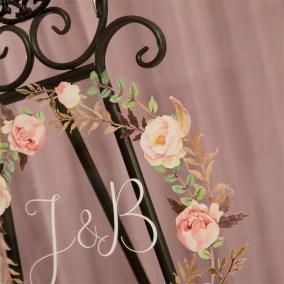 Cartelli Plexiglass tableau de mariage YK020_4