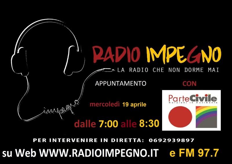 Radio Impegno mercoledì