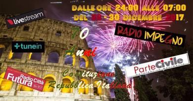 30 dicembre 2017, ParteCivile a Radio Impegno