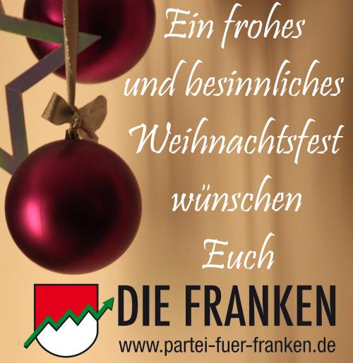 Partei für Franken – DIE FRANKENWeihnachten Archive - Partei für ...