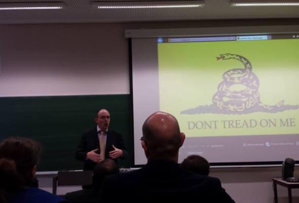 AG du Parti Libertarien : Patrick Smets confirmé à la Présidence