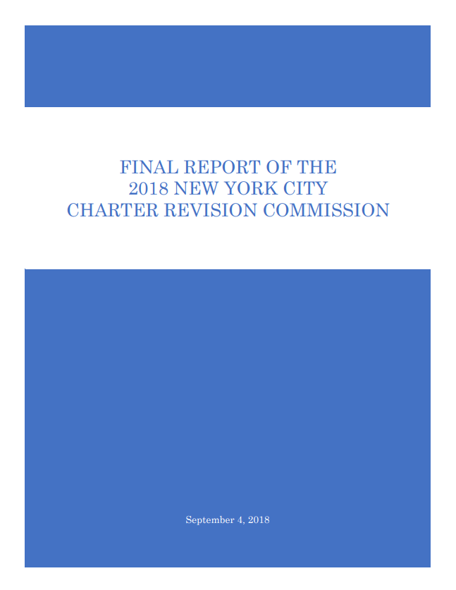 Commission Report Cover