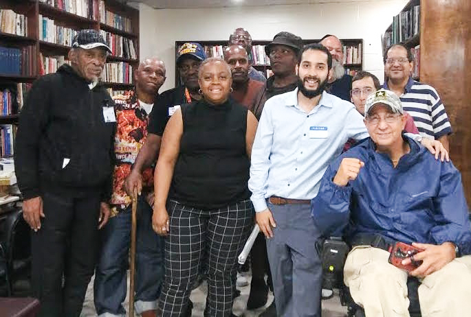 Kenny Medrano pictured front row, second from left with other PB participants in Queens, New York