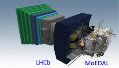 Figure 2: The MoEDAL detector.