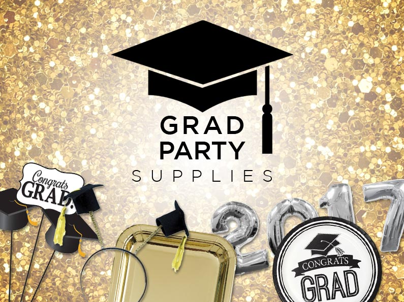 grad party supplies for