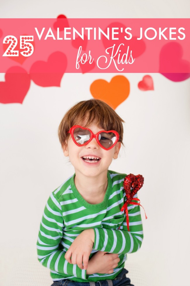 25 Valentine's Jokes for Kids