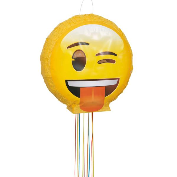 Emoji Pinata for an Emoji Party
