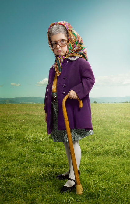 Image result for kid dressed as old lady