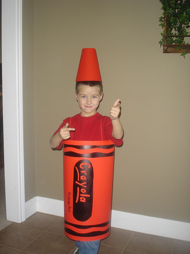 Homemade Crayon Costume  sc 1 st  Poemsrom.co & crayon costume diy | Poemsrom.co