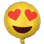 Emoji Kalp Folyo Balon