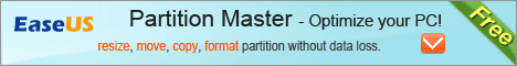 Free EASEUS Partition Master-Optimize your PC!
