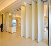 Auditorium Interior Decorated Wooden Movable Partition ...