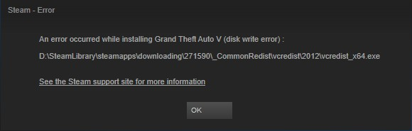 How To Fix Steam Disk Write Error On Multiple Games