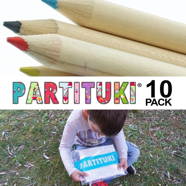 Pack of 10 sets of Colored Pencils