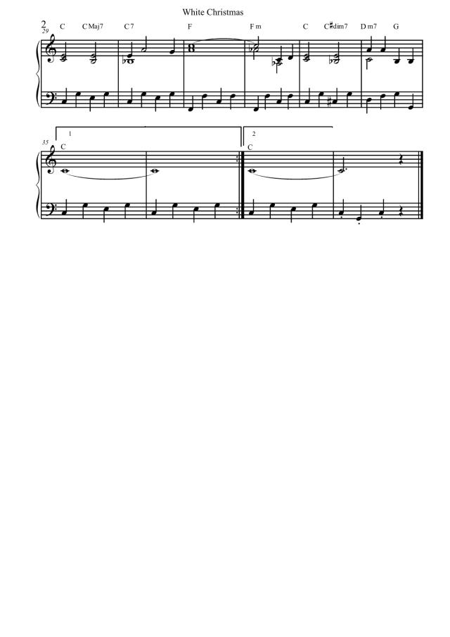 Spartito-Bianco-Natale-White-Christmas-pianoforte-facile-2
