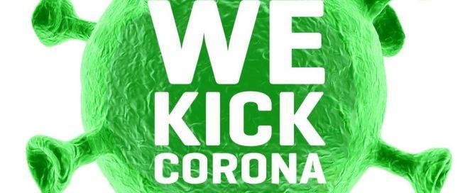 We kick Corona Logo