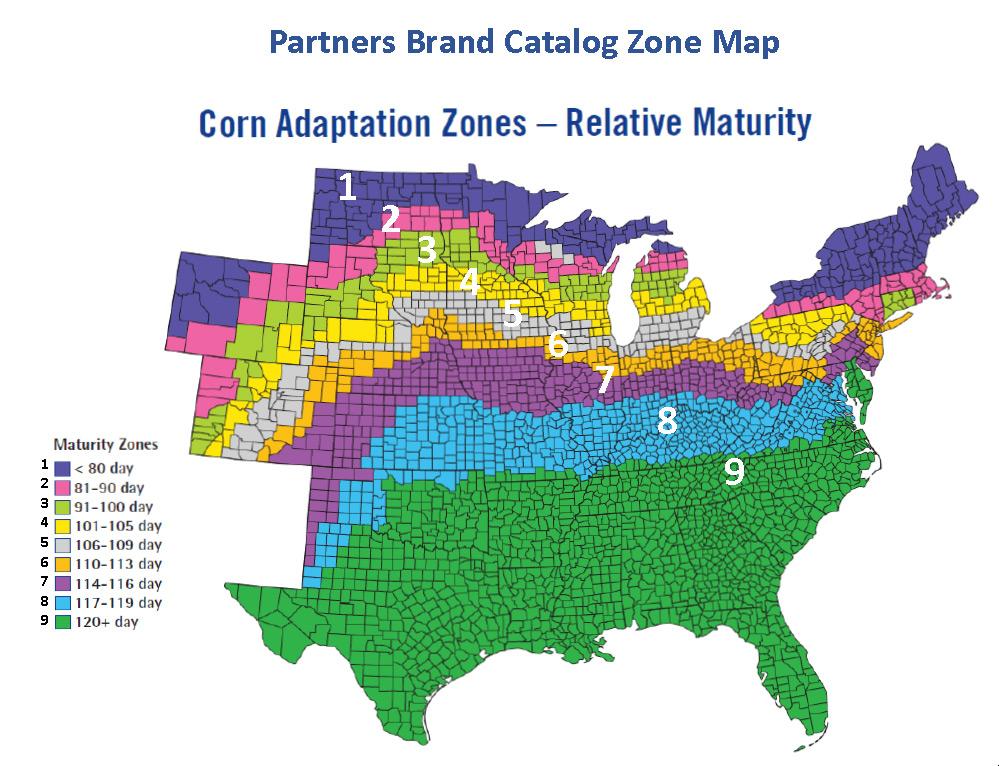Growing Zones Missouri