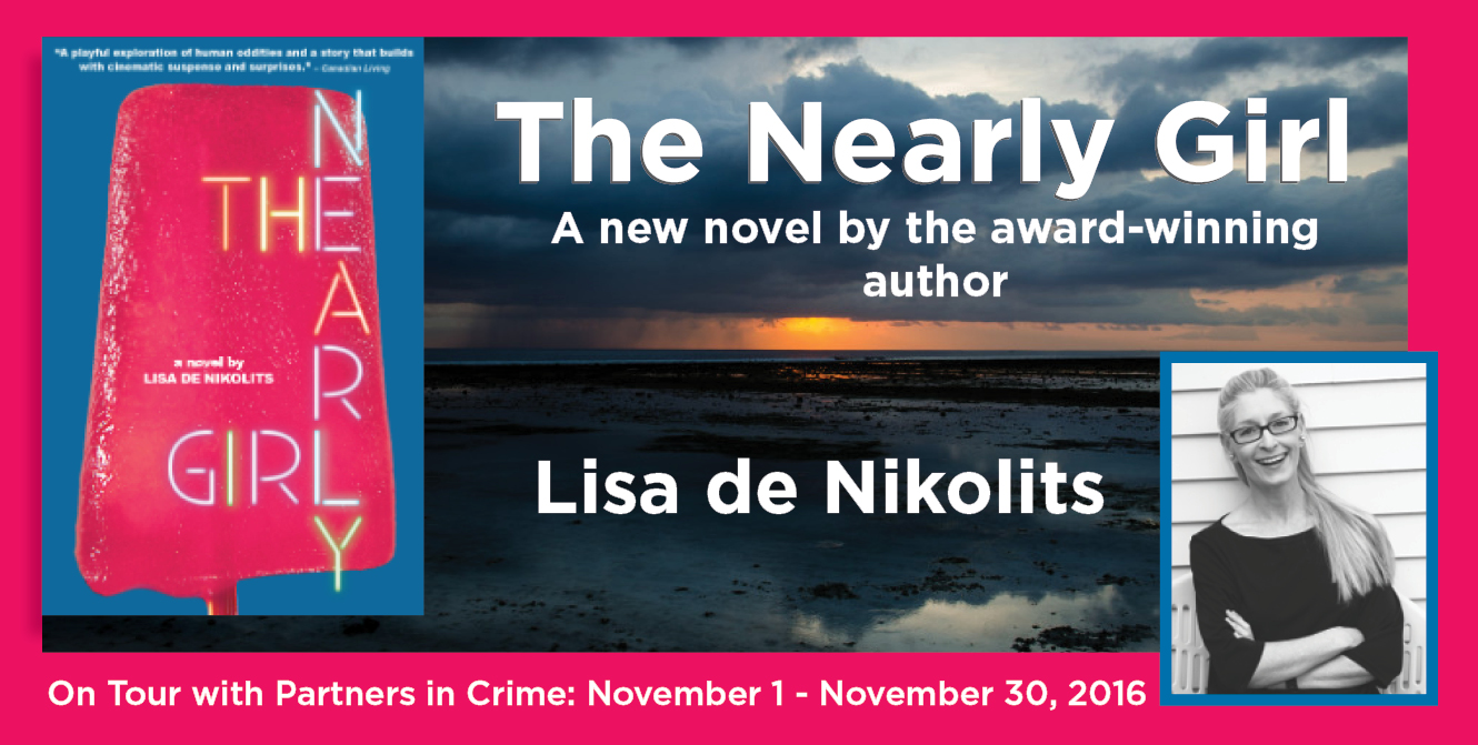 The Nearly Girl by Lisa de Nikolits Banner