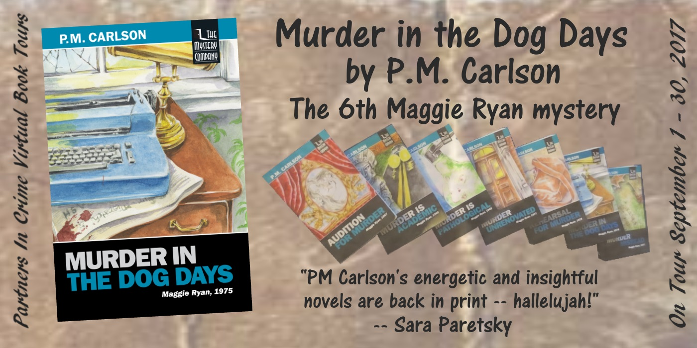 Murder in the Dog Days by P.M. Carlson Banner