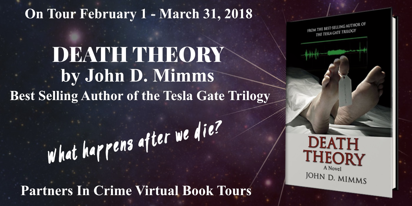 Death Theory by John D. Mimms Tour Banner