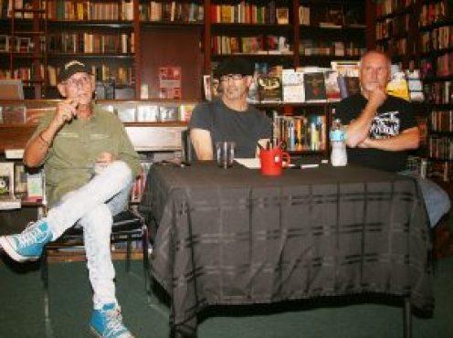 Ross Klavan, Tim O'Mara, and Charles Salzberg