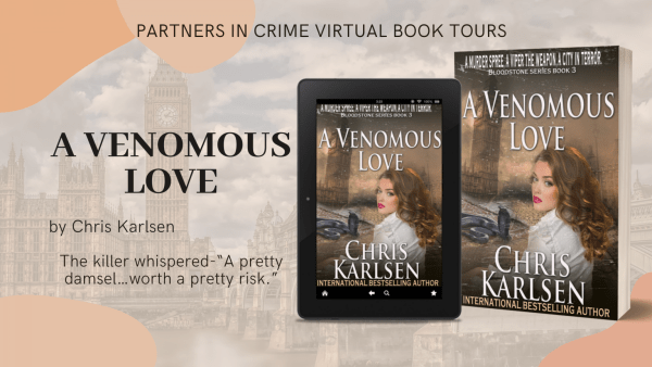 A Venomous Love by Chris Karlsen Banner