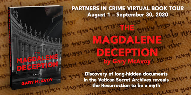 The Magdalene Deception by Gary McAvoy Banner