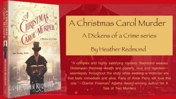 A Christmas Carol Murder by Heather Redmond Banner