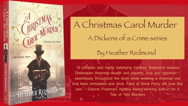 A Christmas Carol Murder by Heather Redmond Banner