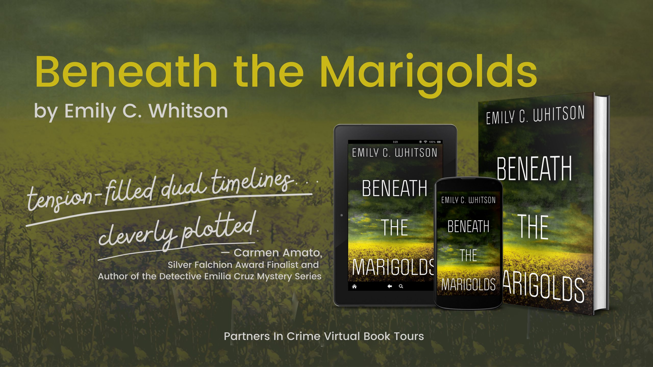 Beneath the Marigolds by Emily C. Whitson Banner