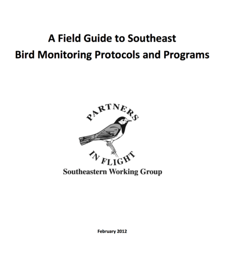 A Field Guide to Southeast Bird Monitoring Protocols and