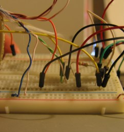 the breadboard setup for the hot tub controller [ 2592 x 1944 Pixel ]