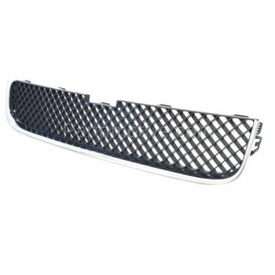 GRL-1724 05-09 Chevy Uplander Van Front Lower Grill Grille